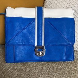 Blue & White Satchel Bag💫
